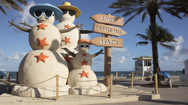 Holiday Cheer in Fort Lauderdale!
